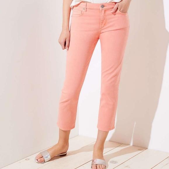 LOFT Denim - NWT Loft crop jeans